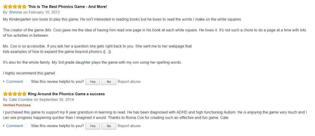 Phonics Reviews